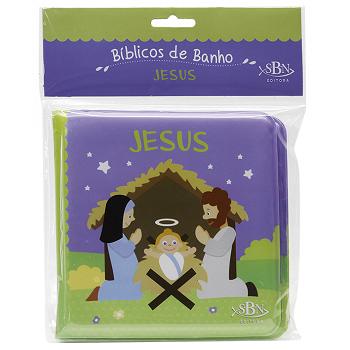 Bíblicos De Banho | Jesus