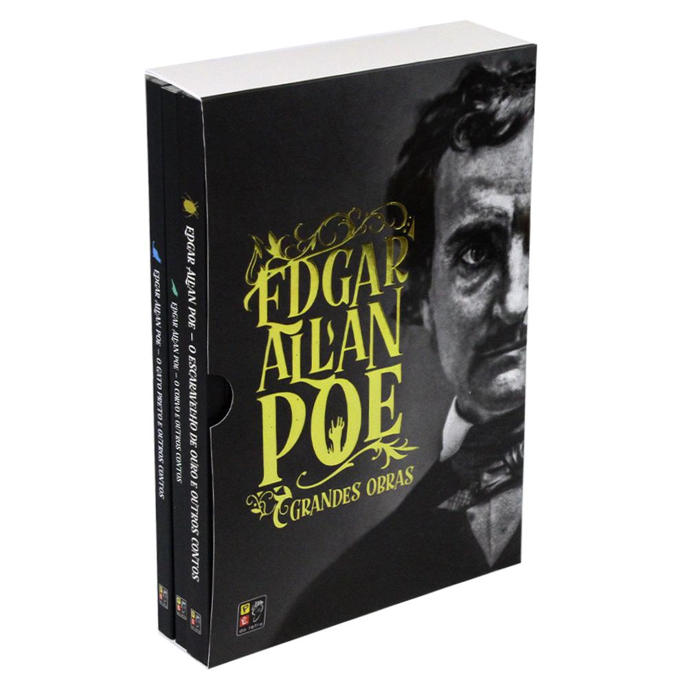 Box 03 Livros Edgar Allan Poe | Pé da Letra
