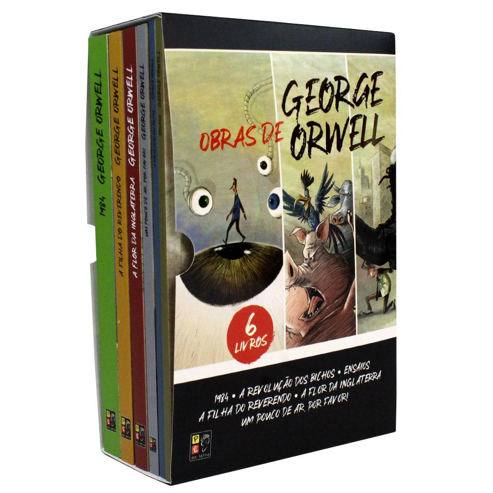 Box 06 Livros | George Orwell  | Pé da Letra