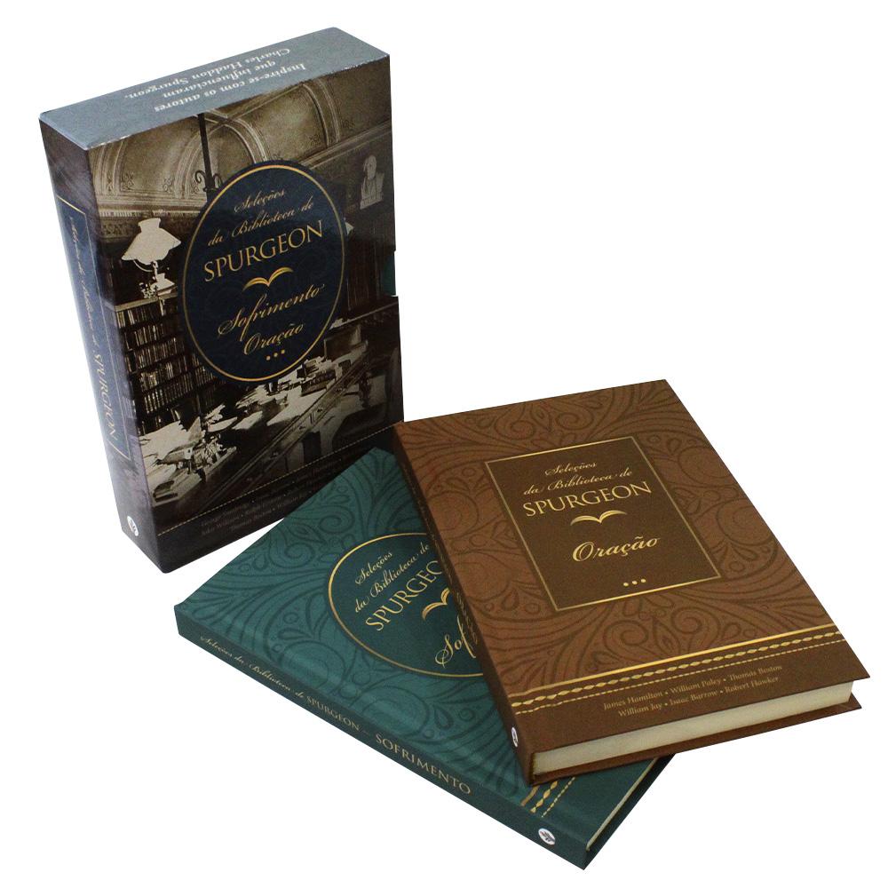 Box 2 Livros | Biblioteca Spurgeon | Orações e Sofrimento