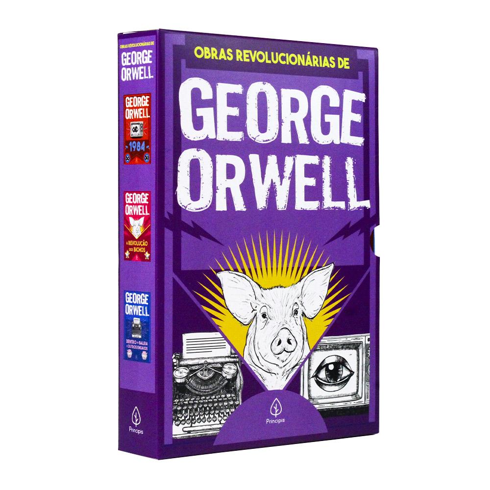 Box 3 Livros | As Obras Revolucionárias de George Orwell | Principis