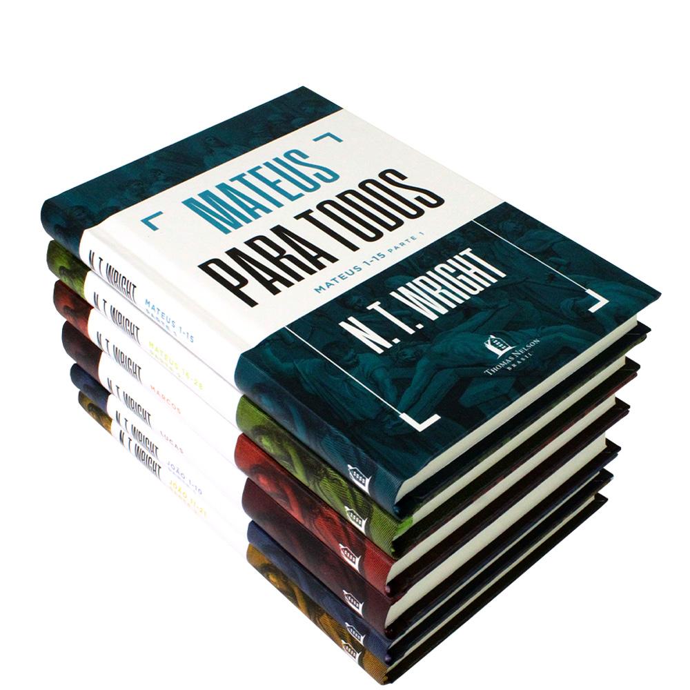 Box 6 Livros | Capa Dura | Os Evangelhos Para Todos | N. T. Wright