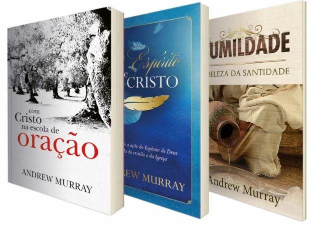 Box Andrew Murray | Humildade - Espírito de Cristo - Com Cristo na Escola da Oração