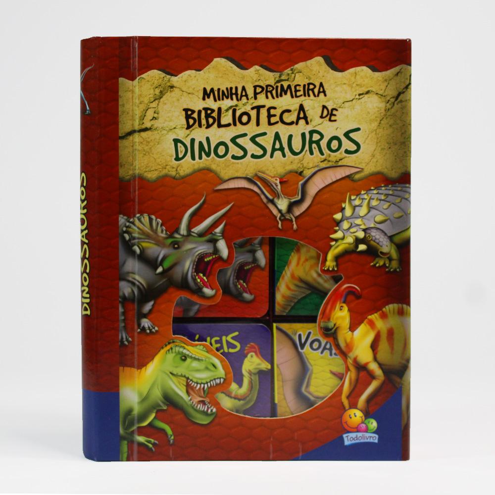 Box Com 6 Unidades | Minha Primeira Biblioteca De Dinossauros | Todolivro