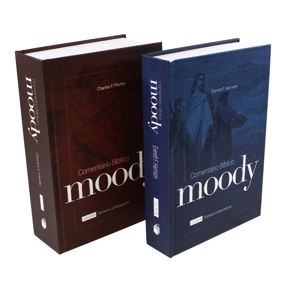 Box Comentário Bíblico Moody Vol. 1 e Vol. 2 | Capa Dura