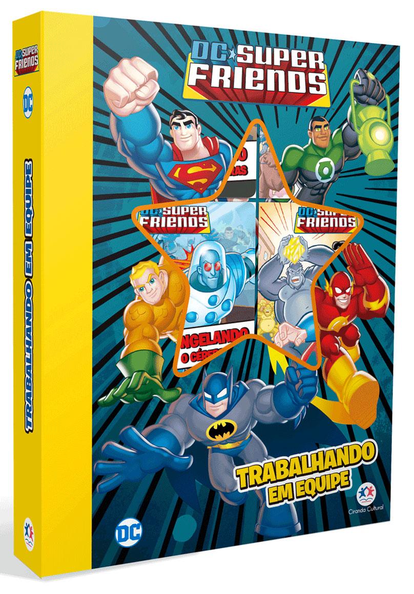 Box DC Super Friends - Trabalhando em Equipe