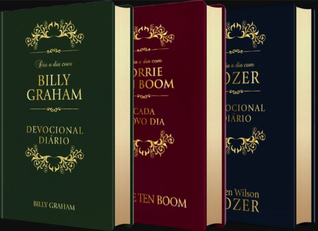 Box Dia a Dia | Billy Graham | Tozer | Corrie Ten Boom