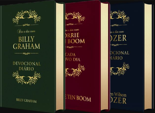 Box Dia a Dia | Billy Graham | Tozer | Corrie Ten Boom