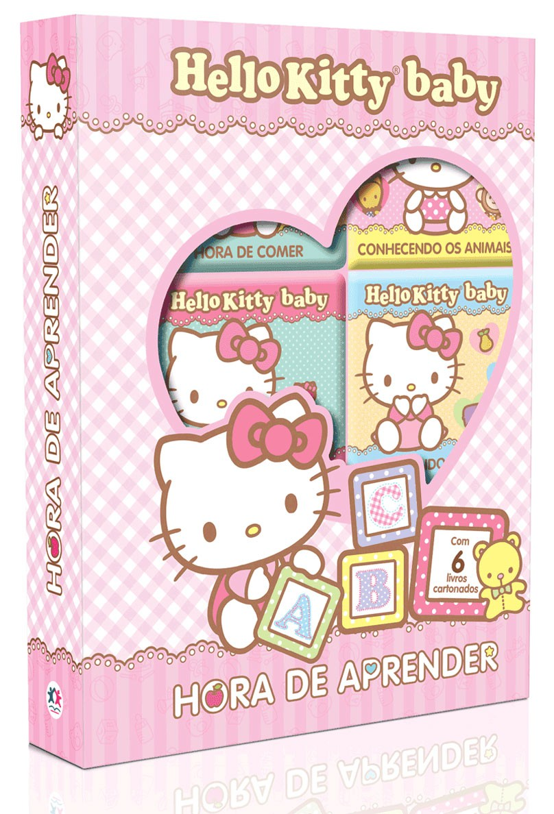 Box Hello Kitty Baby - Hora de Aprender