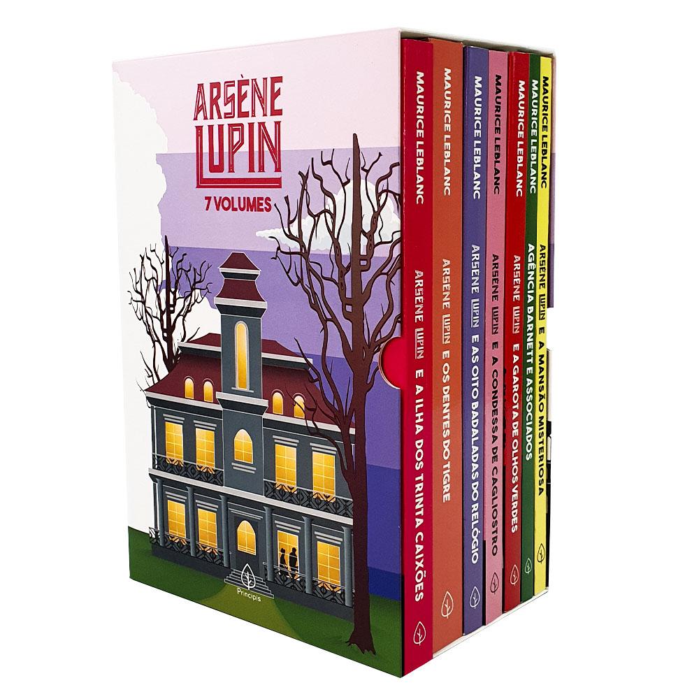 Box Lupin II | 7 livros com cartão postal