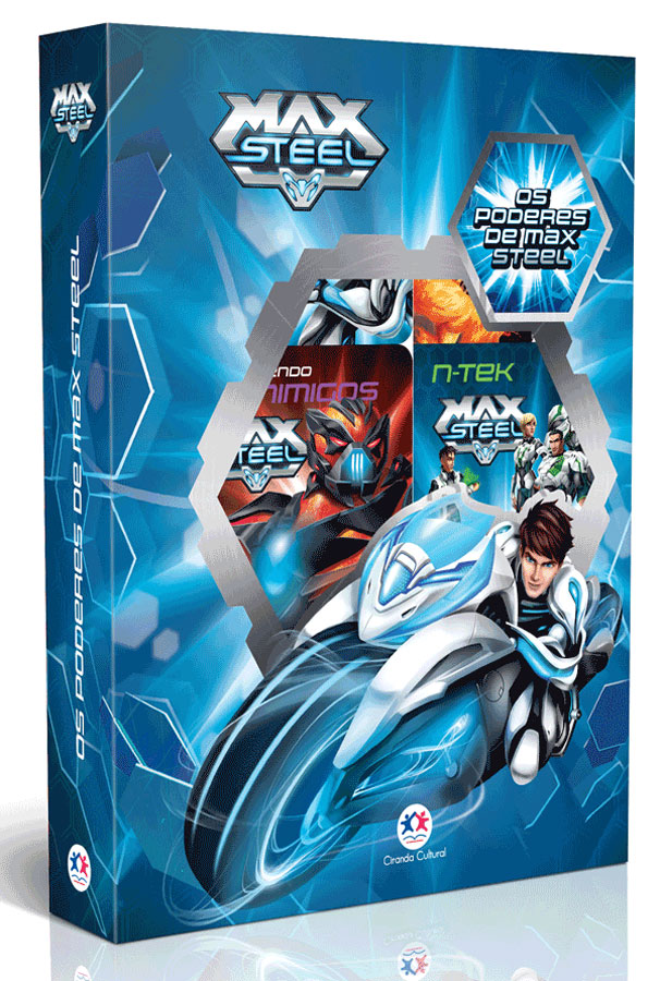 Box Max Steel - Os Poderes de Max Steel