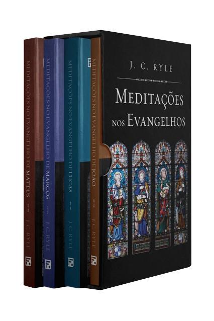 Box Meditações nos Evangelhos - J.C. Ryle