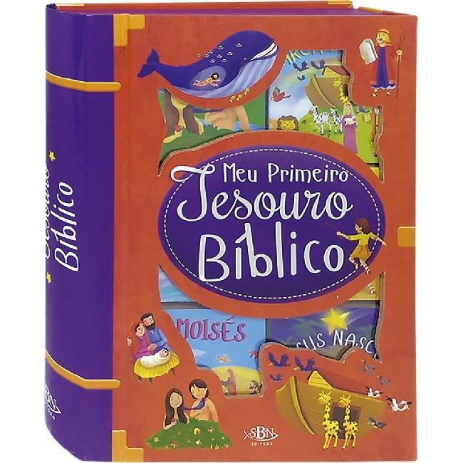 Box Meu Primeiro Tesouro Bíblico | 06 Livros
