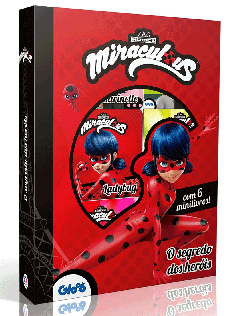 Box Miraculous - O Segredo dos Heróis