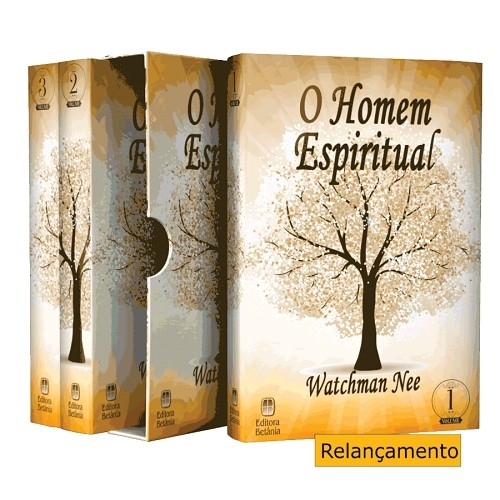 Box O Homem Espiritual - Vol. 1, 2 e 3 | Watchman Nee
