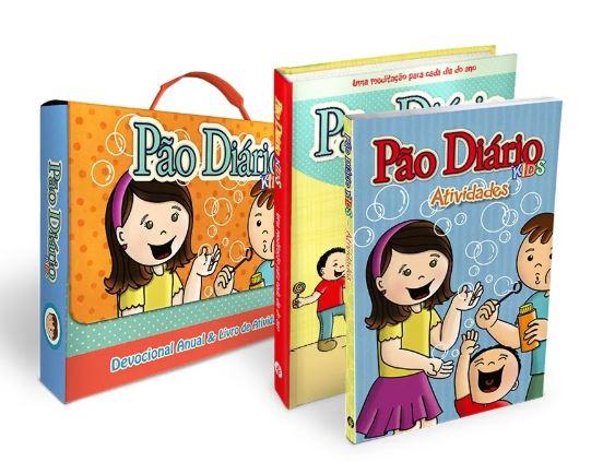 Box Pão Diário Kids + Livro de Atividades