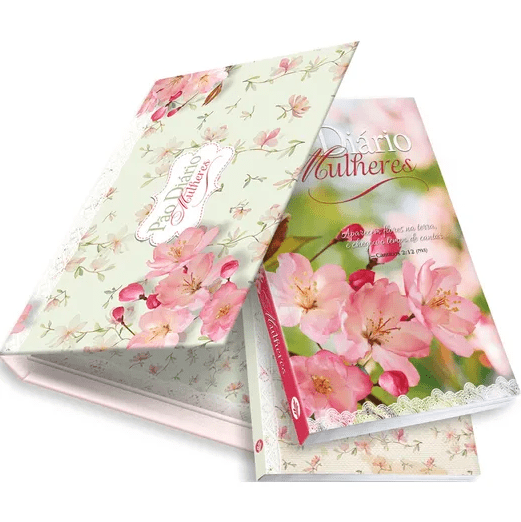 Box Pão Diário Mulheres + Caderno de Notas | Flores da Terra