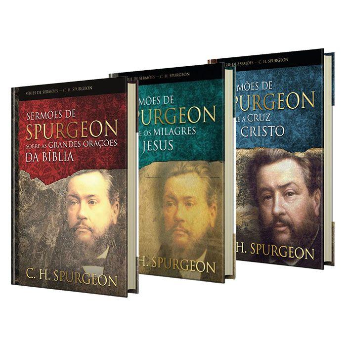 Box Sermões de Spurgeon