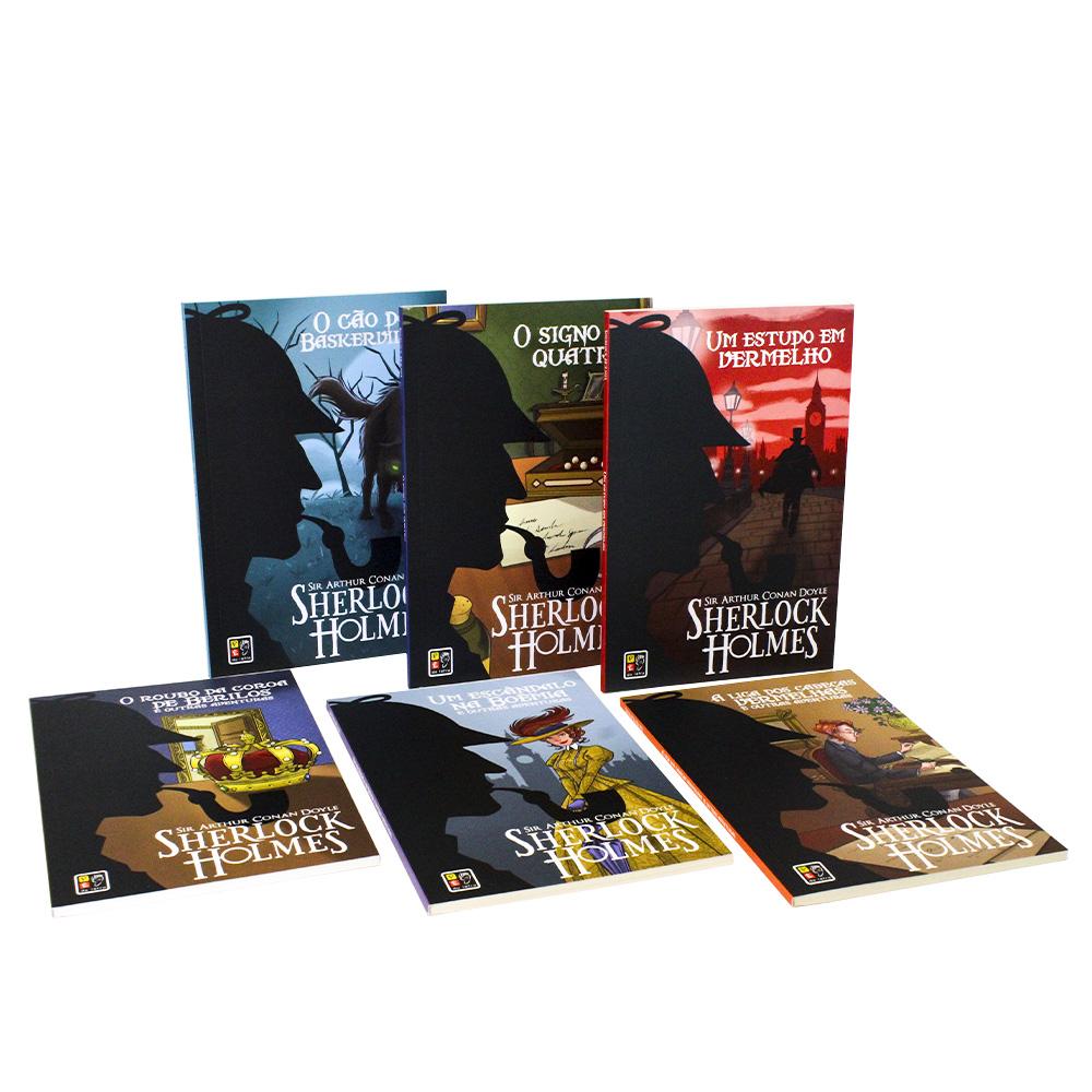 Box Sherlock Holmes - 06 Livros