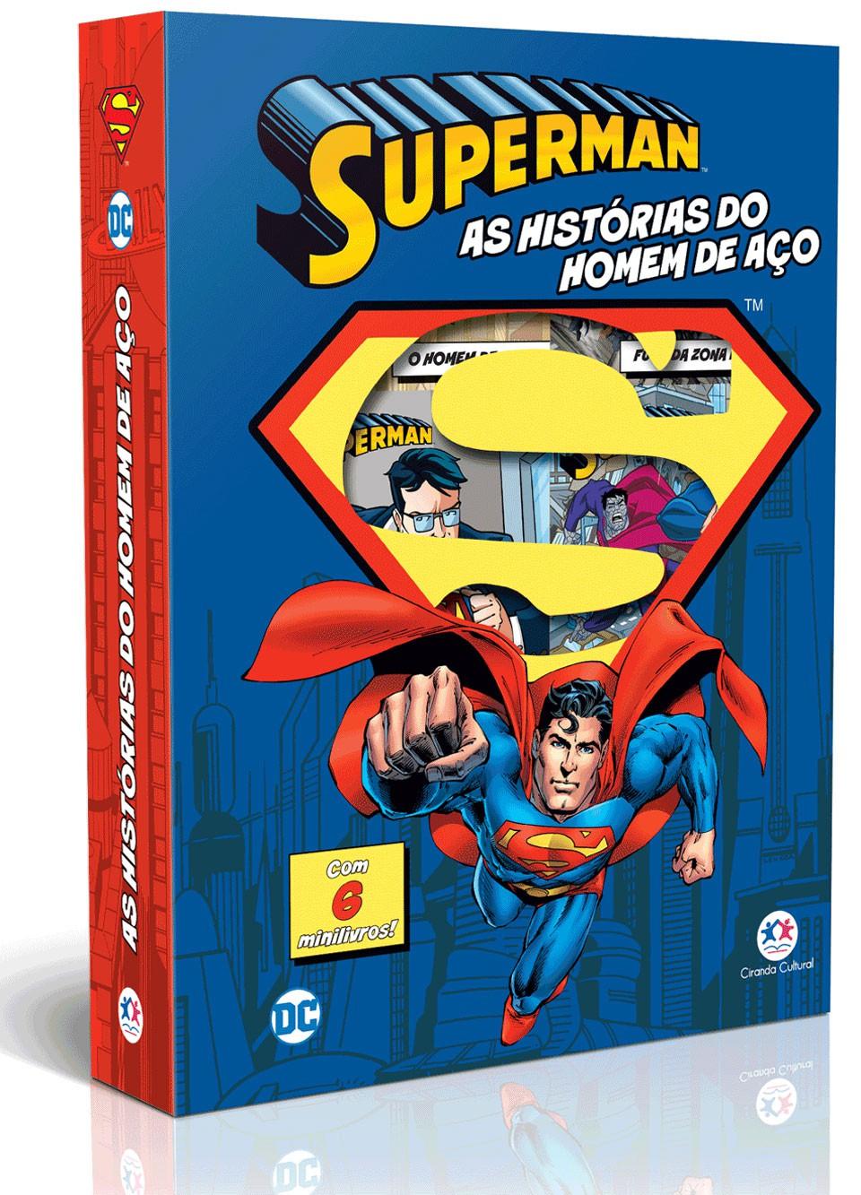 Box Super-Homem - As Histórias do Homem de Aço