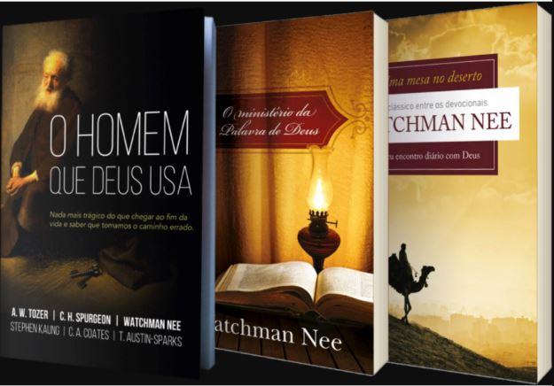 Box Watchman Nee | Mesa no Deserto - Homem que Deus Usa - Ministério Palavra Deus