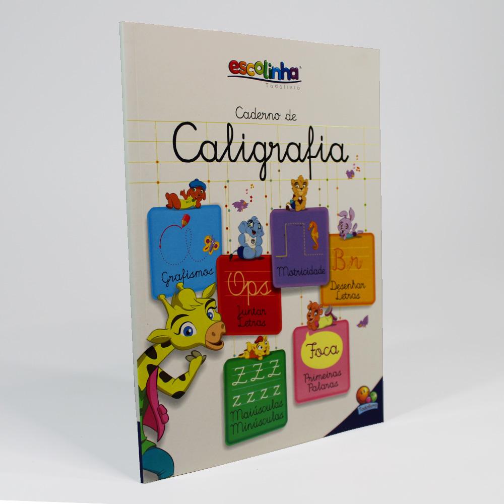 Caderno De Caligrafia | Escolinha Todolivro