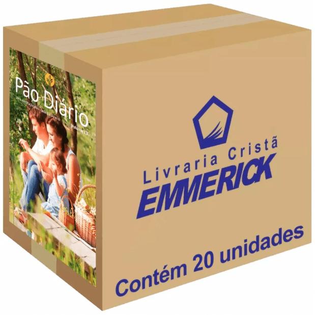 Caixa Pão Diário 2020 Família 20 unidades