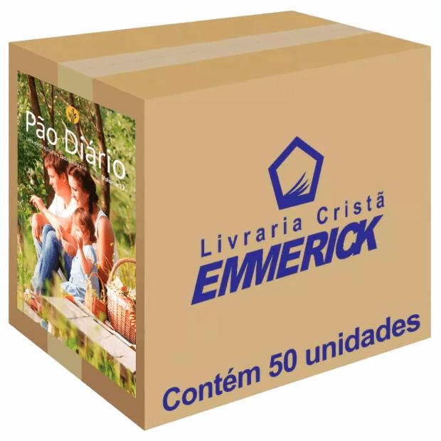 Caixa Pão Diário 2020 Família 50 unidades