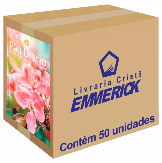 Caixa Pão Diário 2020 Feminino 50 unidades
