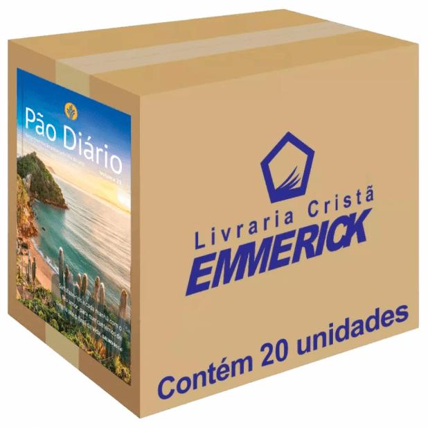 Caixa Pão Diário 2020 Paisagem 20 unidades