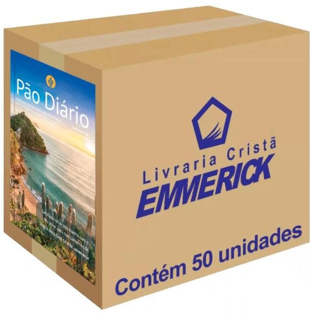 Caixa Pão Diário 2020 Paisagem 50 unidades
