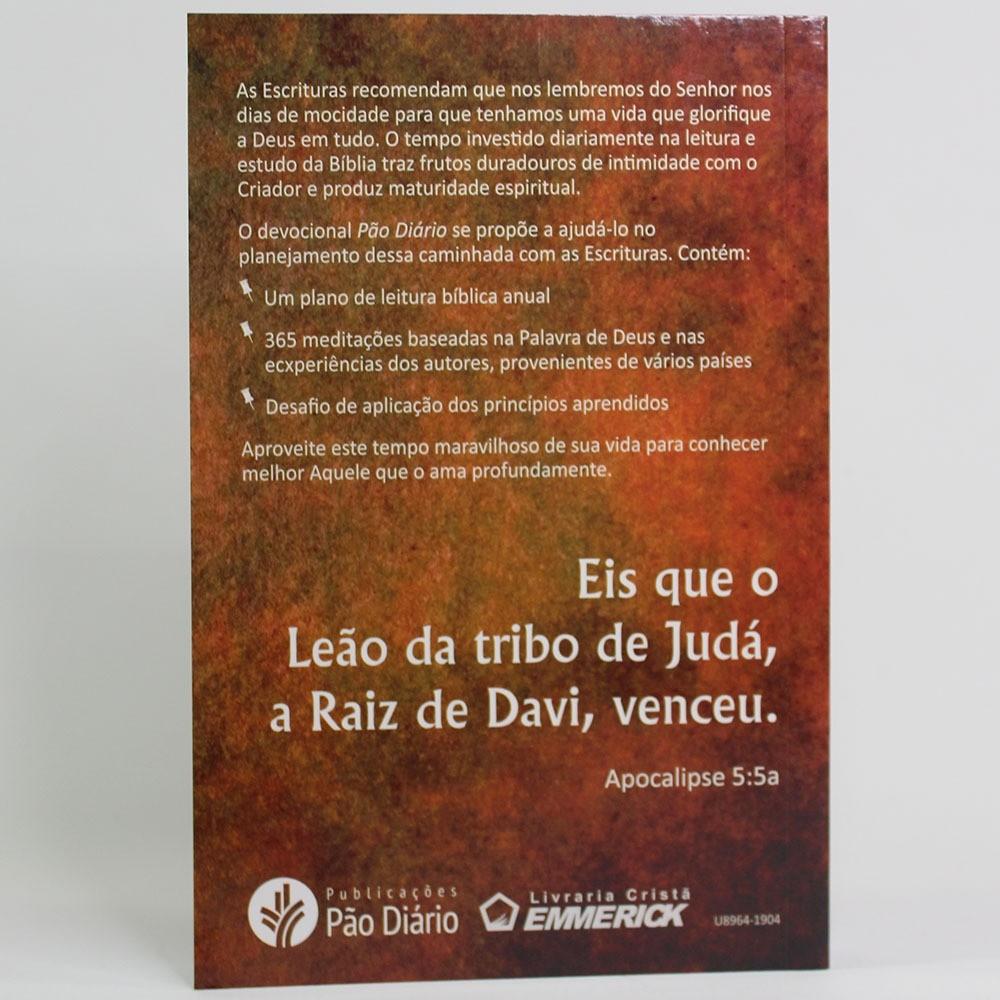 Caixa Pão Diário Capa Leão | 10 unds
