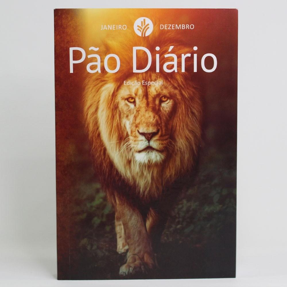 Caixa Pão Diário Capa Leão   50 Unidades
