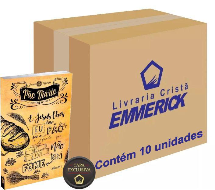 Caixa Pão Diário Capa Lettering   10 unds