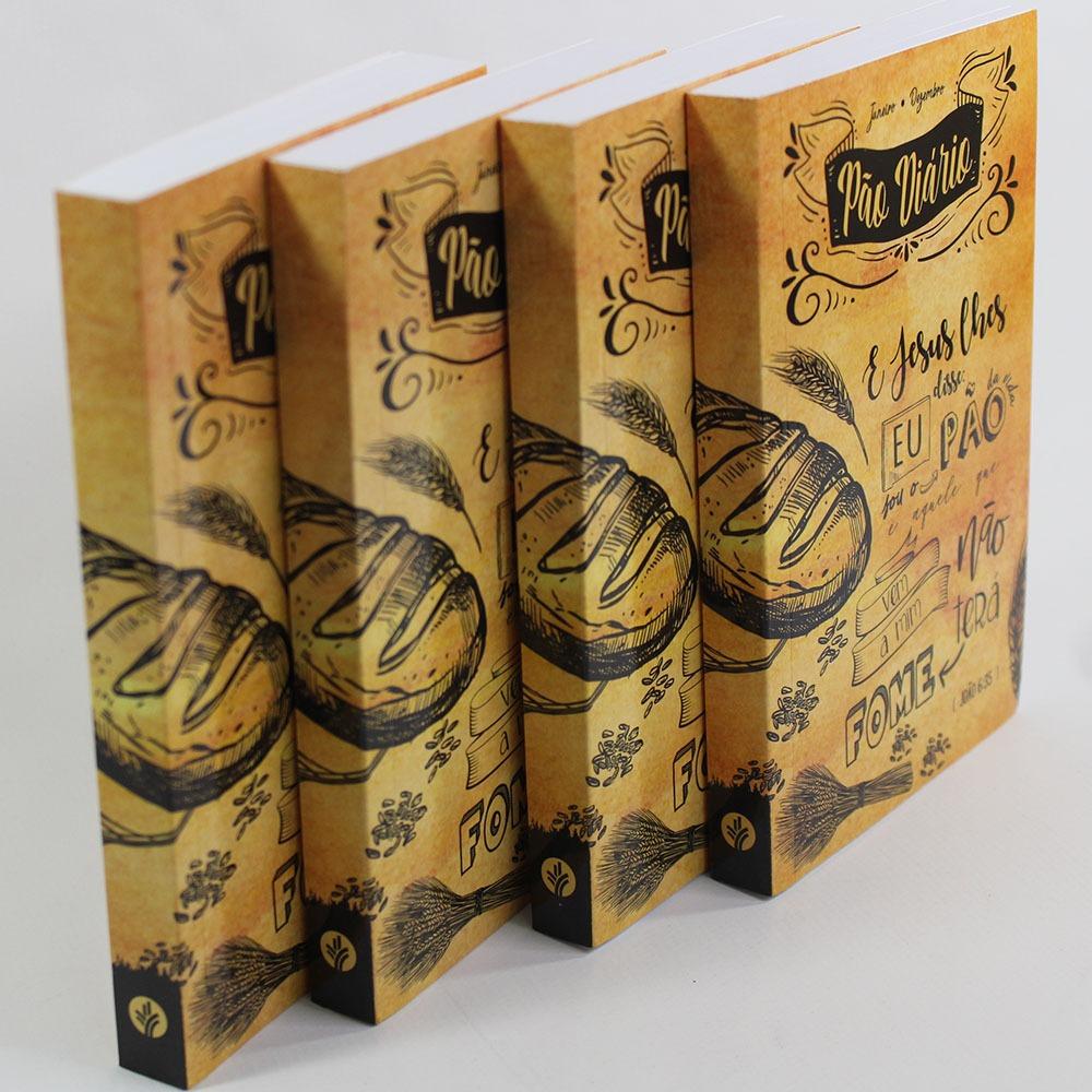 Caixa Pão Diário | Capa Lettering | 10 Unidades