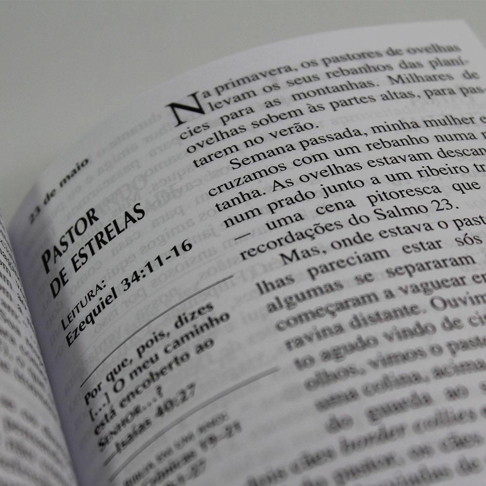 Caixa Pão Diário | Capa Lettering | 50 Unidades