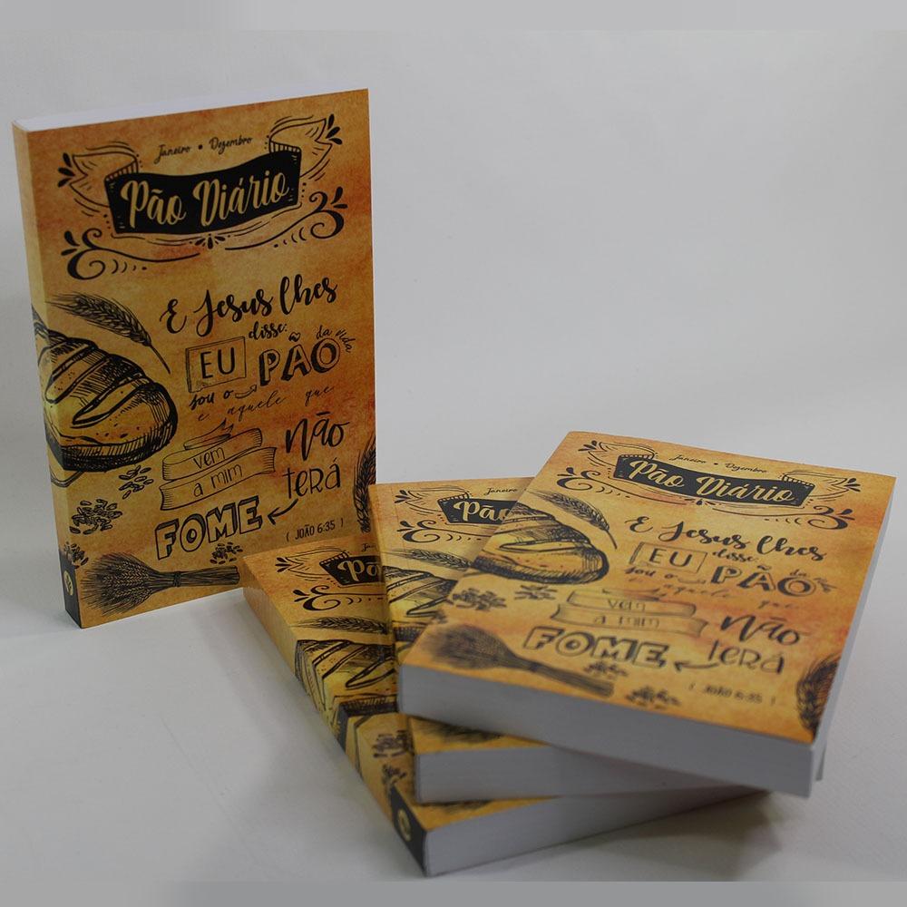 Caixa Pão Diário   Mix Leão e Lettering   10 unds