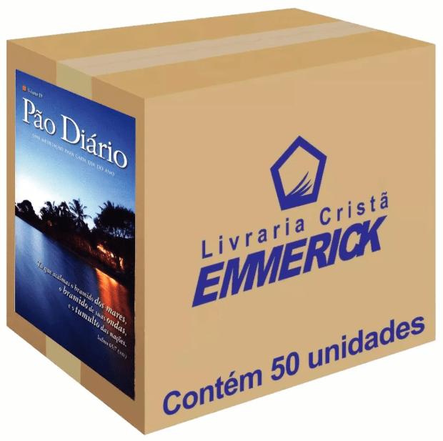Caixa Pão Diário Paisagem Edição de Bolso 50 unds.