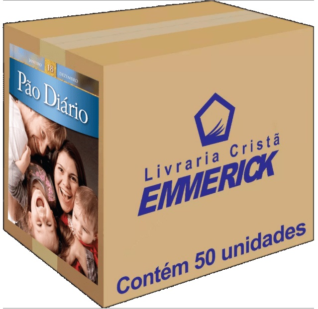 Caixa Pão Diário Vol. 18 | Edição de Bolso | 50 unidades