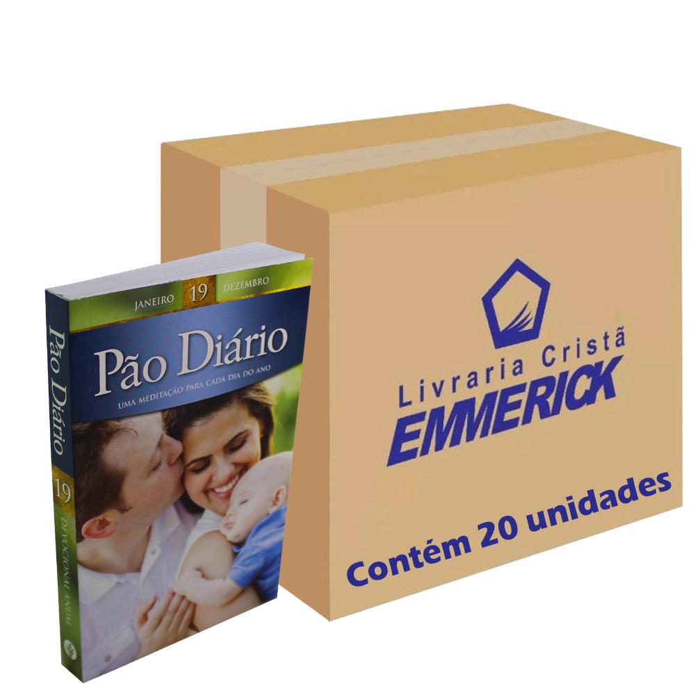 Caixa Pão Diário Vol. 19 - Capa Família | 20 Unidades