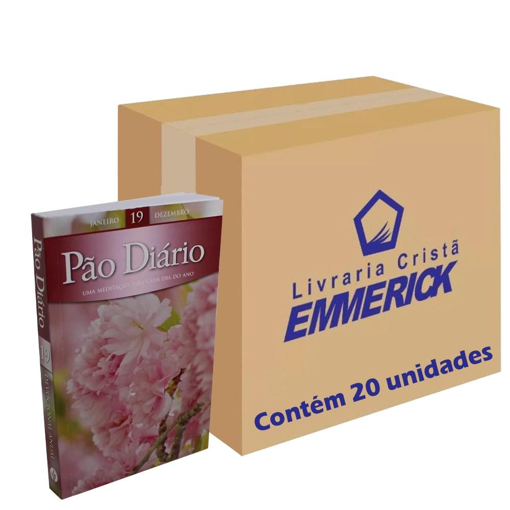 Caixa Pão Diário Vol. 19 - Capa Feminina   20 Unidades