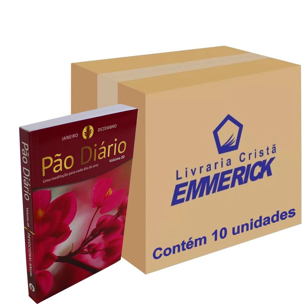 Caixa Pão Diário Vol. 20 - Capa Feminina   10 unidades