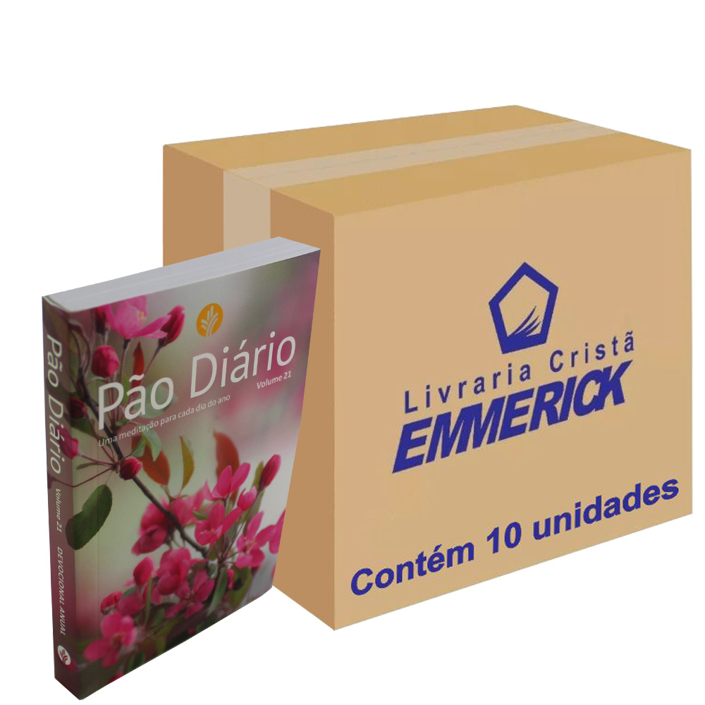 Caixa Pão Diário Vol. 21 - Capa Feminina | 10 Unidades