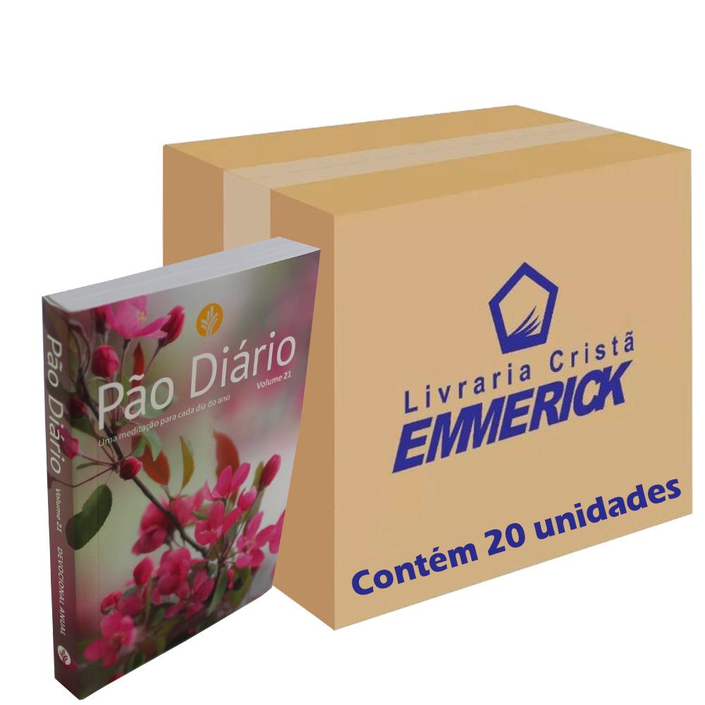 Caixa Pão Diário Vol. 21 - Capa Feminina | 20 Unidades