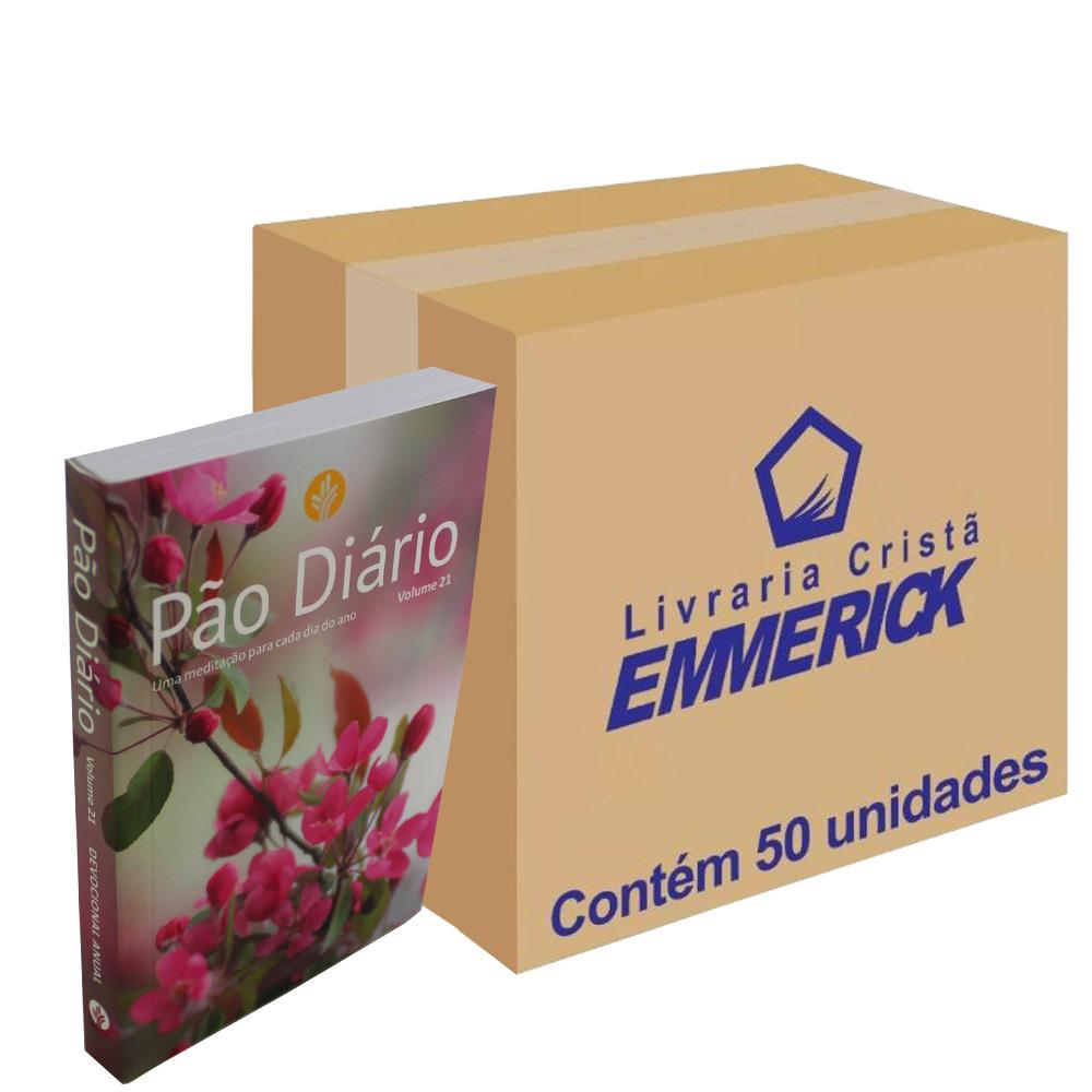 Caixa Pão Diário Vol. 21 - Capa Feminina | 50 unidades