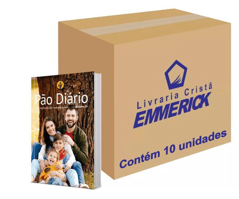 Caixa Pão Diário Vol. 24 - Ano 2021 - Família   10 unds.