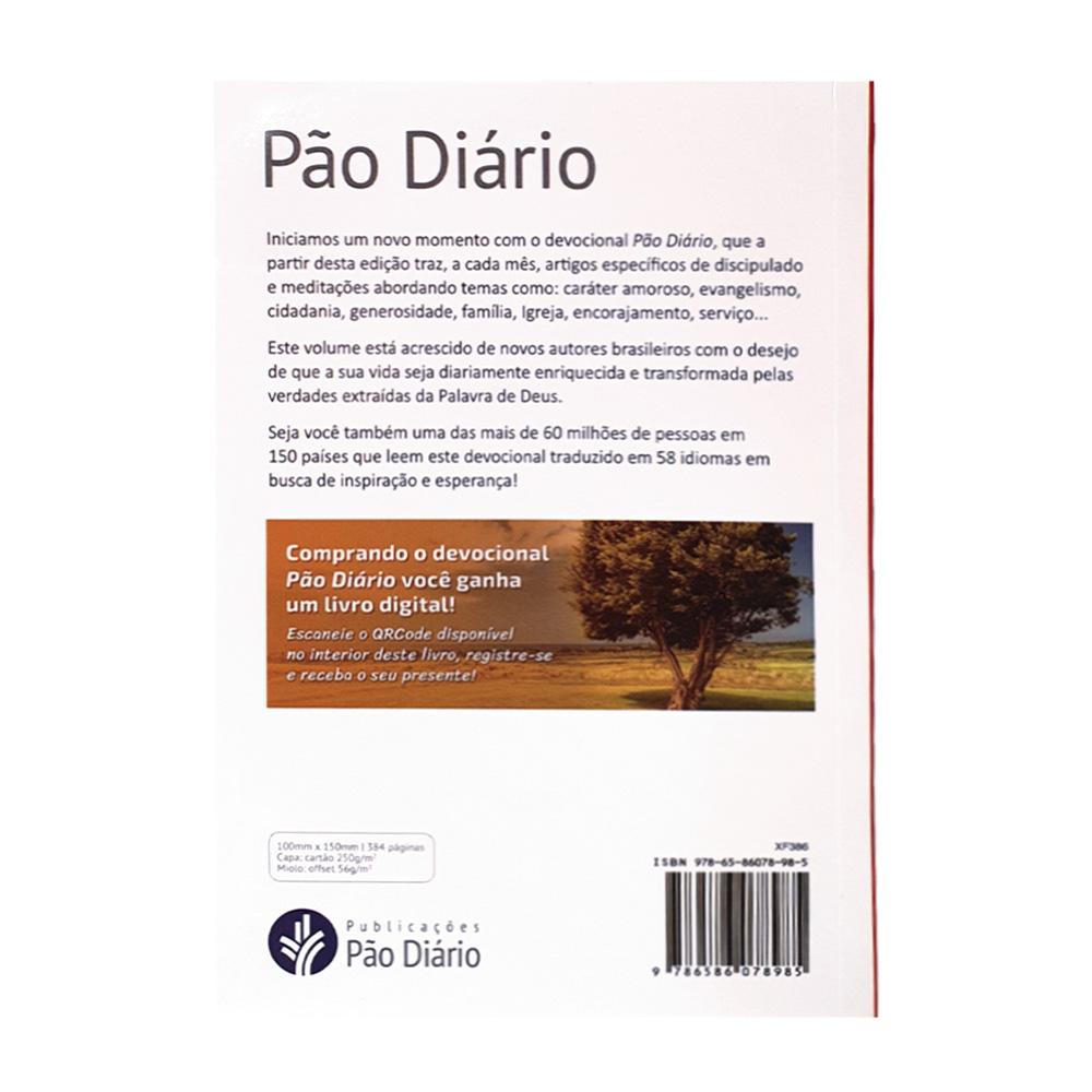 Caixa Pão Diário Vol. 25   Ano 2022   Capa Família   10 Unidades