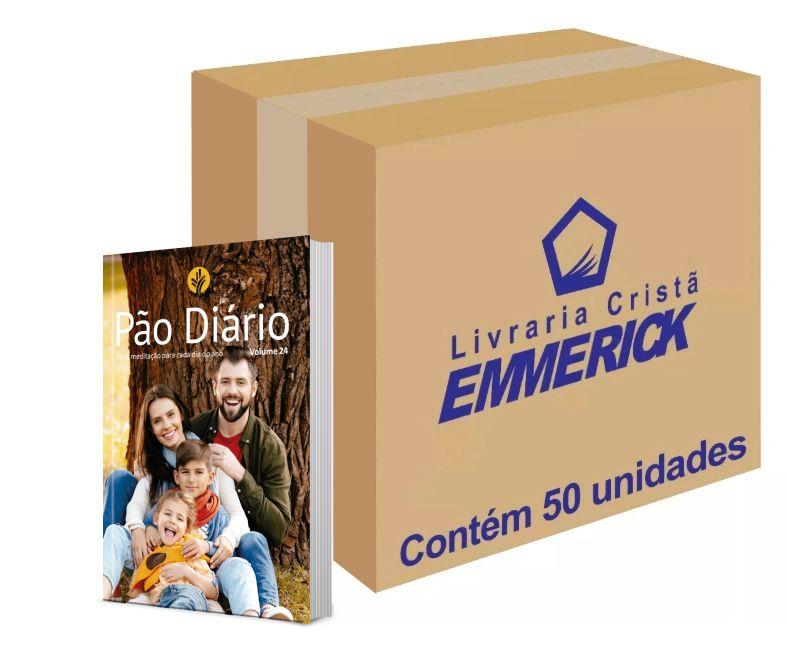 Caixa Pão Diário Vol. 24 | Ano 2021 | Família | 50 Unidades