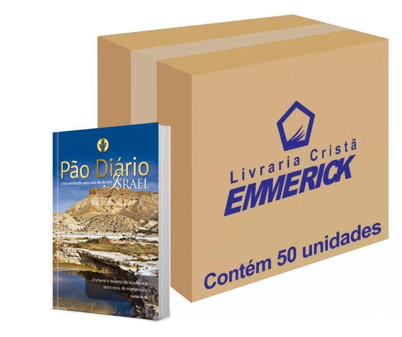 Caixa Pão Diário Vol. 24 - Ano 2021 - Israel   50 unds.