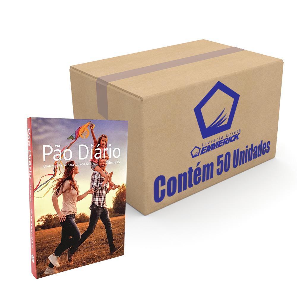 Caixa Pão Diário Vol. 25 | Ano 2022 | Capa Família | 50 Unidades